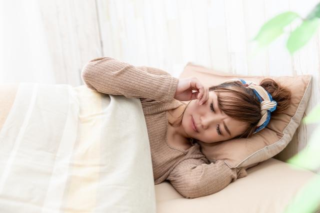 ストレスによる睡眠不足も体調を崩す原因になります
